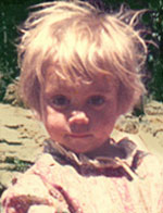 Sarah Golightly, 4 years old